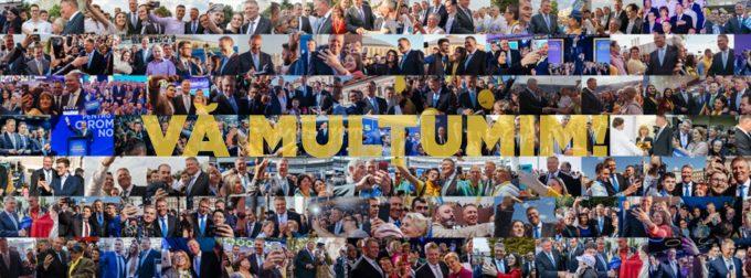 Klaus Iohannis a câştigat al doilea mandat la Palatul Cotroceni, potrivit exit-poll-urilor