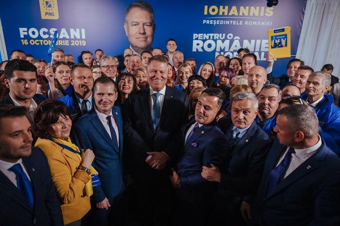 Klaus Iohannis promovează educația, sănătatea și bunăstarea economică!