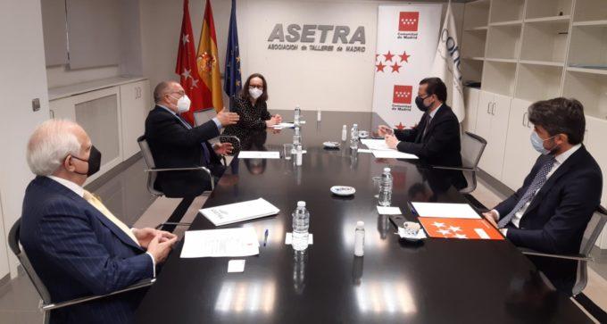 La Comunidad de Madrid concederá ayudas a los talleres mecánicos de la región excluidos del reparto de fondos