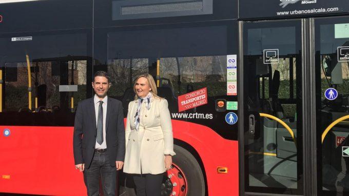 La Comunidad pone en marcha una nueva línea circular de autobús en Alcalá de Henares