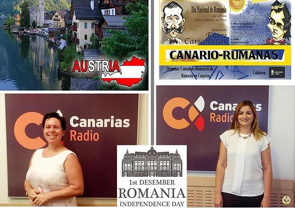 """La celebración del Día Nacional de Rumanía en el programa de """"El Alpende"""" (Canarias Radio)"""