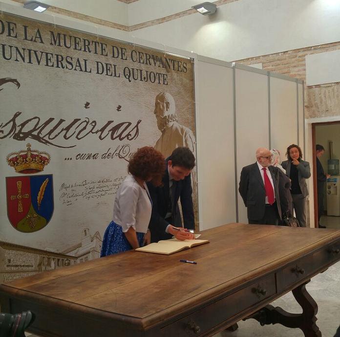 """La participación de la Embajada en la IXª Lectura universal de la obra """"Don Quijote de la Mancha"""" – Esquivias"""