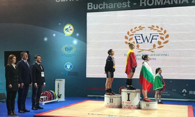 La rumana Elena Andries se proclamó nueva campeona de Europa de halterofilia