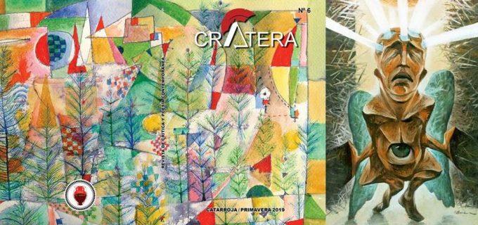 Lansare nou număr revista Crátera şi vernisaj al pictorului Florin Buciuleac