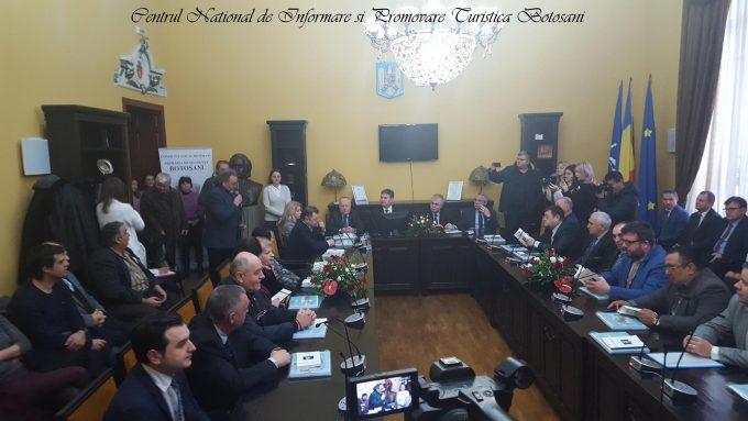 Laureatul Premiului Naţional de Poezie Mihai Eminescu va deveni cetăţean de onoare al municipiului Botoşani