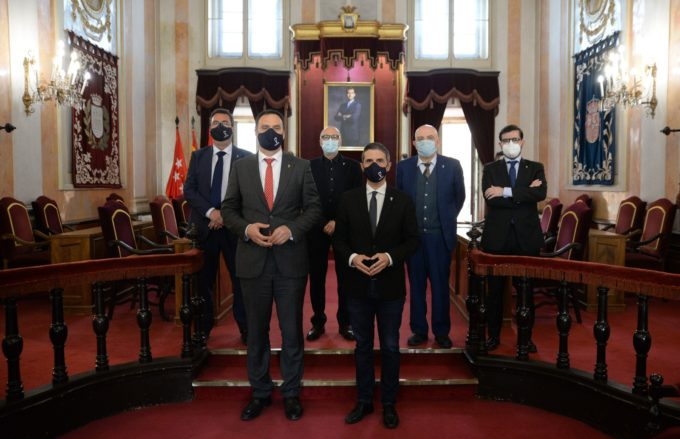 Los alcaldes de Alcalá de Henares y Lebrija firman un convenio para conmemorar el V Centenario de la muerte de Nebrija