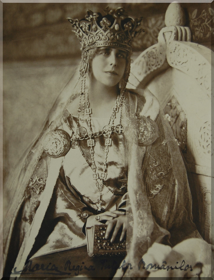 M S Regina Maria a Românieinumită în popor mama răniţilor şi regina soldatTe binecuvântez iubită Românie-1