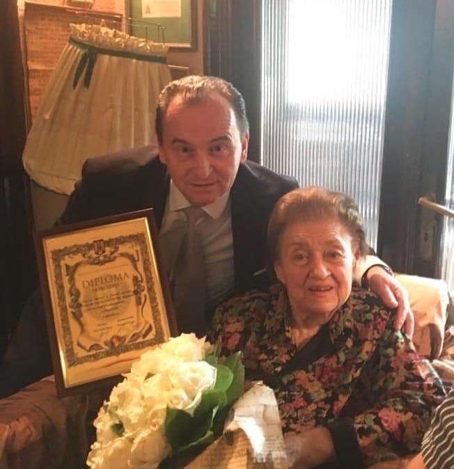 MCIN: Diplomă de excelenţă pentru Tamara Buciuceanu-Botez cu prilejul împlinirii vârstei de 90 de ani