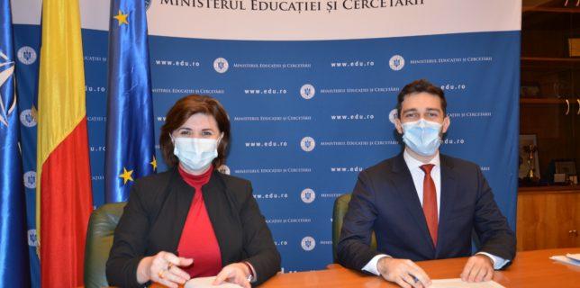 MEC: Acord de colaborare cu Liga Studenţilor Români din Străinătate pentru promovarea imaginii României