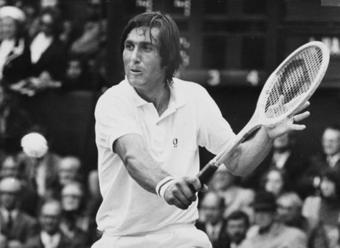 Marele campion la tenis Ilie Năstase, singurul român care are numele înscris în International Tennis Hall of Fame