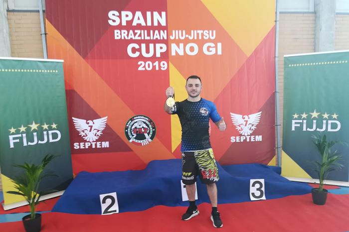 Mihai Alexandru Tiron, un român din Spania cu multe medalii de AUR la Jiu-Jitsu Brazilian