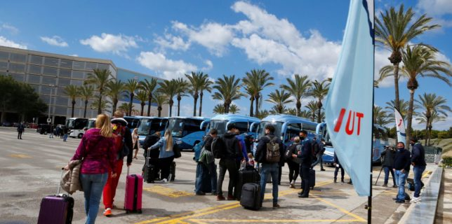 Mii de germani au plecat în vacanţa de Paşti în Mallorca