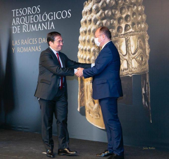 Ministrul Bogdan Aurescu - în vizită oficială în Spania; 140 de ani de relaţii diplomatice româno-spaniole