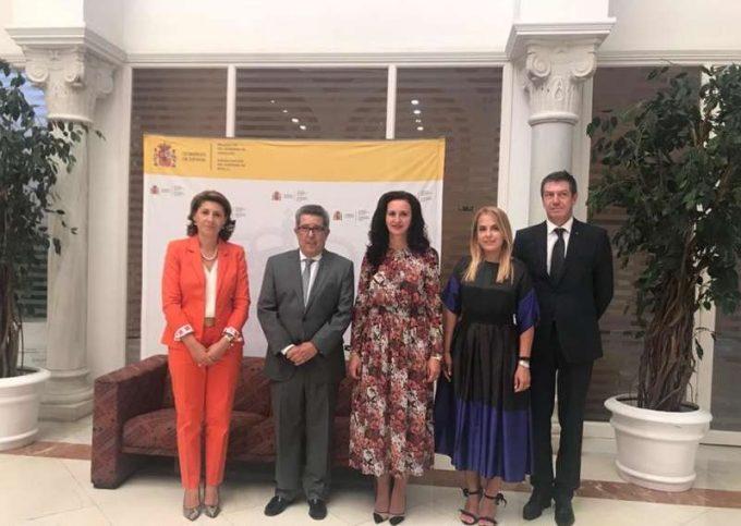 Ministrul Intotero - întâlnire cu asociaţiile româneşti din Andaluzia; discuţii privind oportunităţi de finanţare