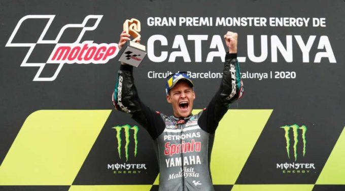 MotoGP: Francezul Fabio Quartararo (Yamaha-SRT) a câştigat MP al Cataloniei