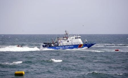 Navă cu migranți, interceptată de Garda de Coastă în apropierea țărmului românesc al Mării Negre