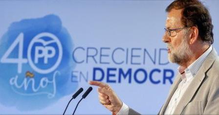 Nimeni nu va lichida democrația spaniolă, i-a avertizat premierul Mariano Rajoy pe separatiștii catalani