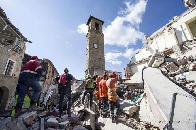 Nou bilanț MAE: 11 români morți, 6 răniți și 14 dați dispăruți în cutremurul din Italia