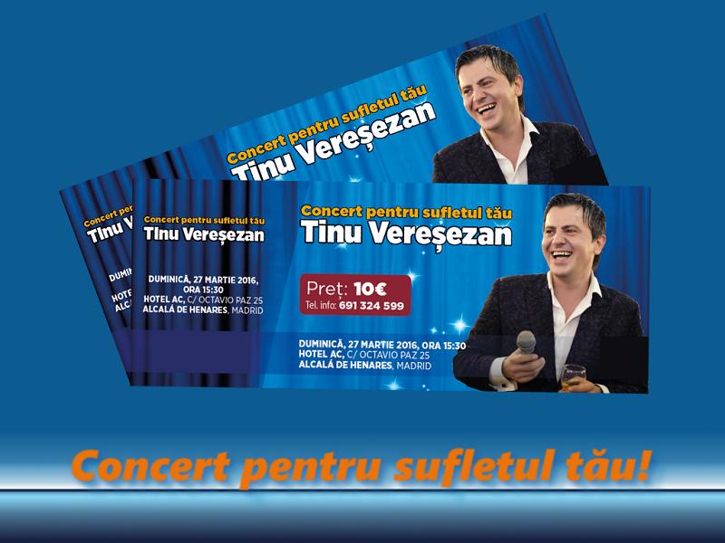 Nu rata Concertul Tinu Vereșezan – un concert extraordinar pentru sufletul tău!