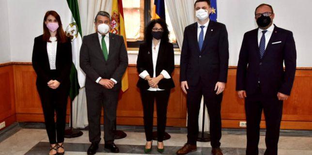 O delegație a Guvernului României a avut întrevederi cu autoritățile spaniole din Comunitatea Autonomă Andaluzia