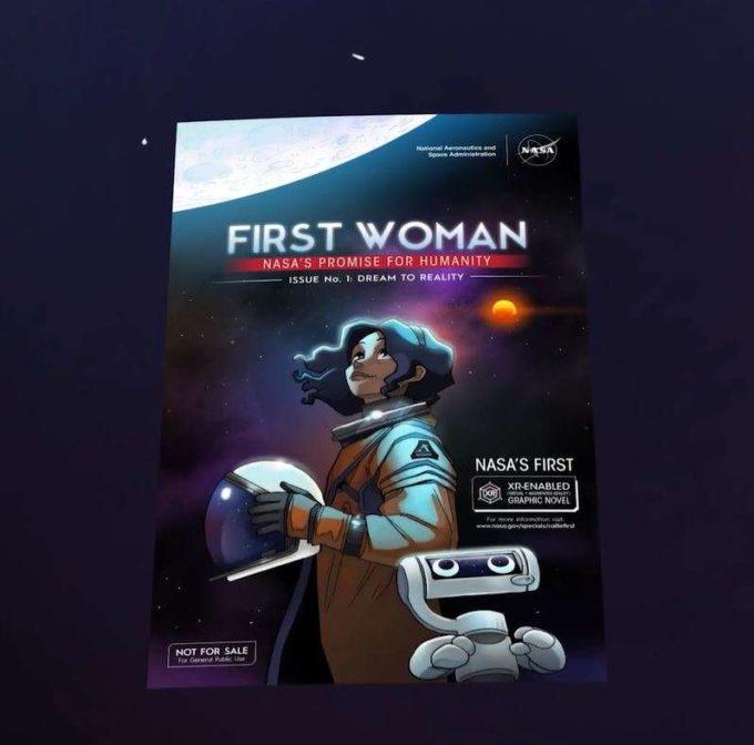 O hispanică, prima femeie aleasă de NASA pentru a păşi pe Lună într-o povestire digitală şi interactivă