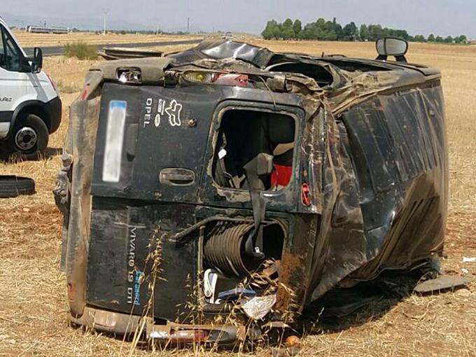O româncă însărcinată a decedat și alte 7 persoane rănite într-un accident în Daimiel (Ciudad Real)