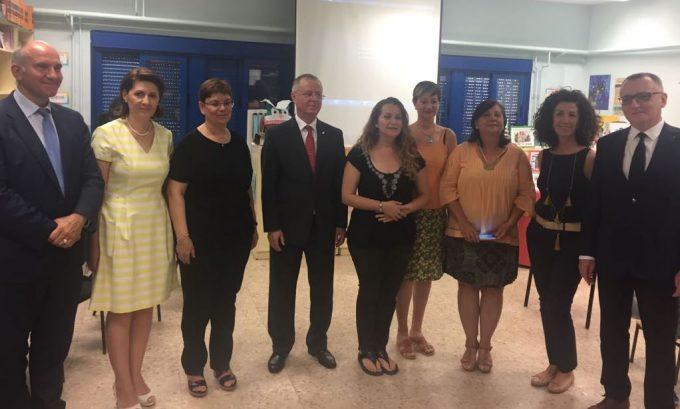Oră de Limbă, Cultură şi Civilizație Românească în Spania, cu participarea ministrului educației naționale din România