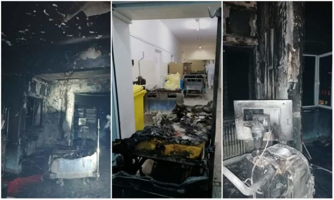 Parchetul General: Dosar penal pentru ucidere din culpă în cazul incendiului de la spitalul din Piatra Neamţ