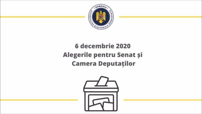 Parlamentare2020/Ghidul alegătorului pentru scrutinul parlamentar din 6 decembrie 2020
