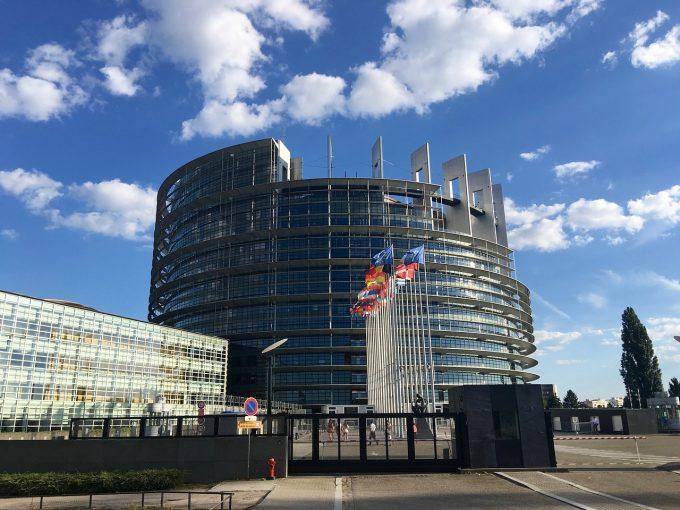 Parlamentul European a condamnat utilizarea disproporţionată a forţei poliţiei în timpul manifestaţiilor