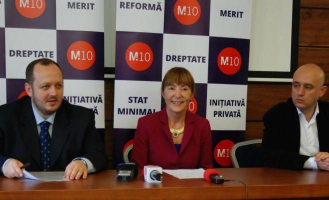 Partidul M10 solicită demisia ''imediată'' a premierului Ponta