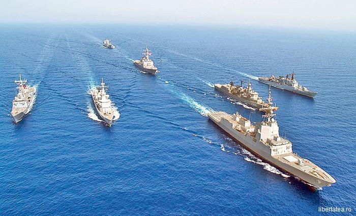 Patru nave de luptă ale NATO, în Georgia, pentru manevre comune