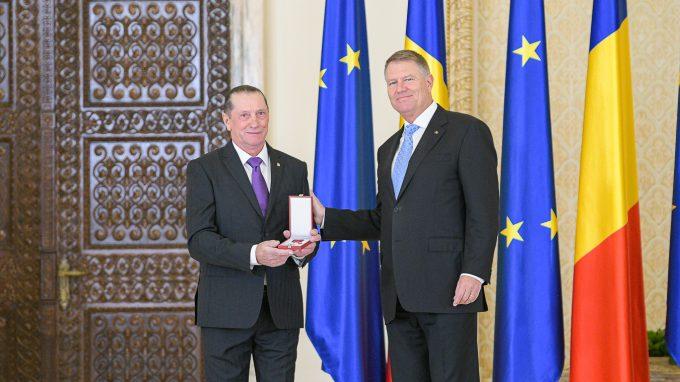 Patzaichin, decorat cu Ordinul ''Steaua României'': Pentru mine este un vis frumos acest ordin extraordinar