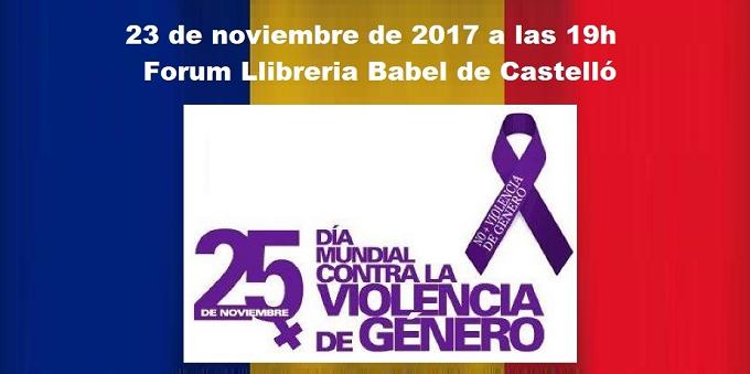 """Pe 23 noiembrie, Asociația Română din Castellón organizează evenimentul """"No a la Violencia de Género!"""""""