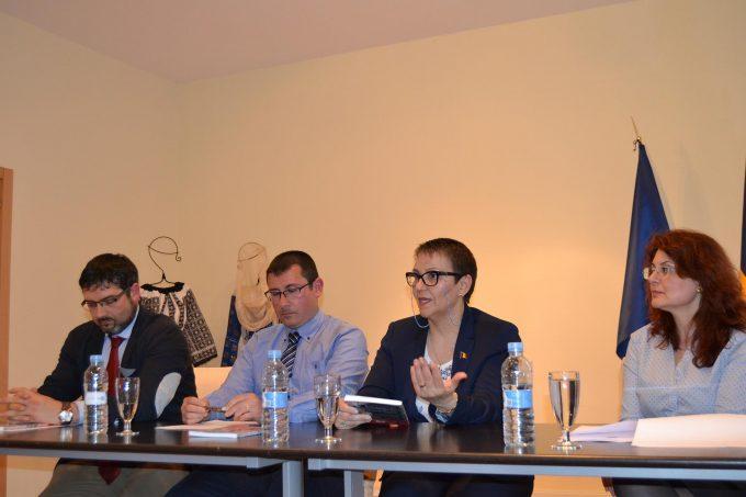 """Pe 28 aprilie a avut loc un nou eveniment cultural din ciclul Serile """"Acasă"""" ale Ambasadei"""