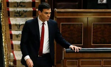 Pedro Sánchez, nuevo presidente del Gobierno tras triunfar la moción de censura contra Rajoy
