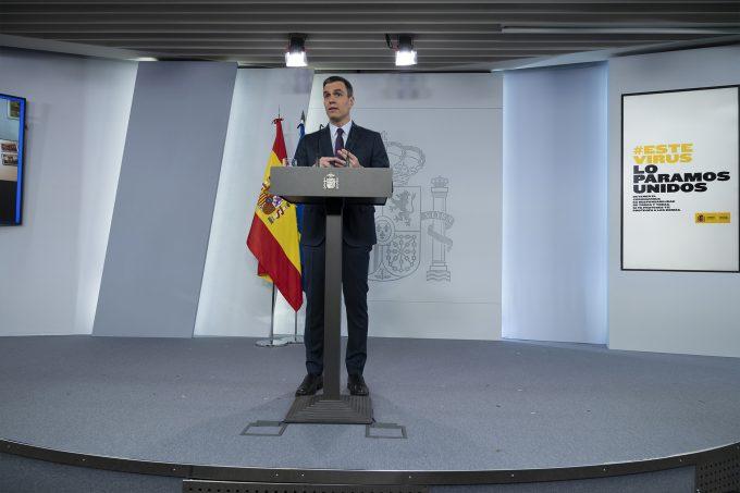 """Pedro Sanchez a anunțat măsurile de relaxare a carantinei către """"noua normalitate"""" și principiile generale după care aceste măsuri vor fi implementate"""
