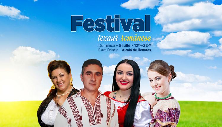 Petrecem împreună la Festivalul – Tezaur Românesc, în Alcalá de Henares, Madrid