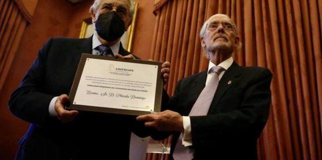 Placido Domingo, premiat în Spania în pofida acuzaţiilor de hărţuire sexuală