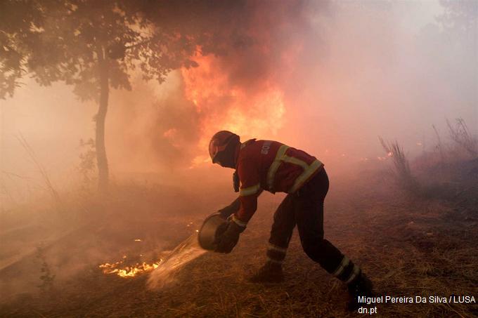 Plan de urgență în Portugalia din cauza incendiilor de pădure
