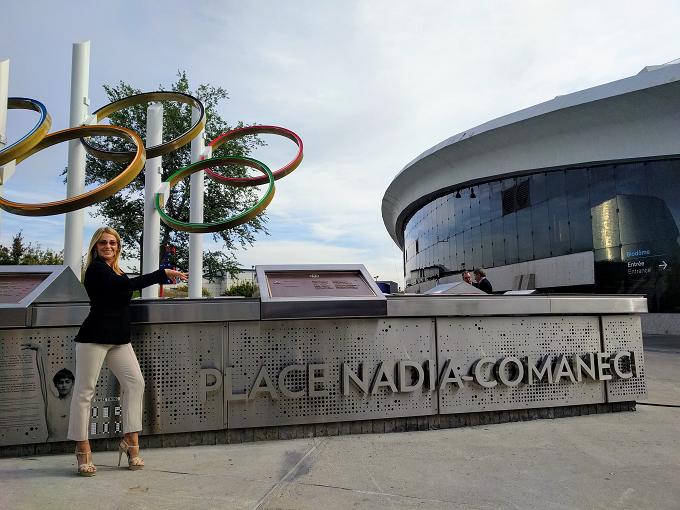 VIDEO: Plaza Nadia Comaneci, inaugurada en Montreal, Québec (Canada)