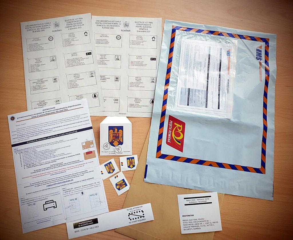 Poşta Română a început expedierea documentelor pentru românii care vor vota prin corespondenţă