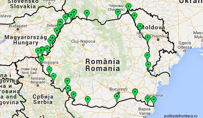 Poliția de Frontieră recomandă tranzitarea tuturor punctelor de frontieră existente la graniță