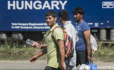 Poliția ungară recurge la gaze lacrimogene împotriva imigranților