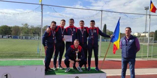 """Pompierii de ISU Botoşani, locul al treilea în proba de """"Ştafetă 4 x 100 metri"""" la Cupa Odessos din Bulgaria"""
