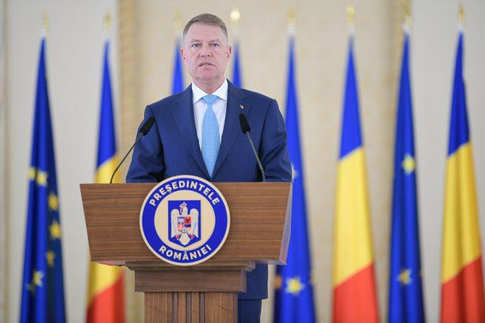 Preşedintele Klaus Iohannis a anunţat instituirea stării de urgenţă în România pentru 30 de zile