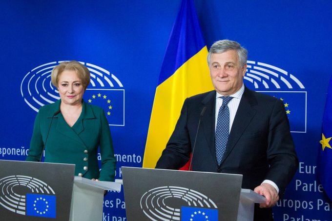 VIDEO: Preşedintele PE a cerut Guvernului român să continue lupta anticorupţie