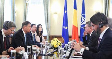 Președintele Iohannis a discutat cu comisarul european Gunther Oettinger despre viitorul buget al UE