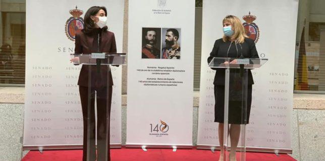 Președintele Senatului, doamna Anca Dragu, însoțită de o delegație parlamentară, efectuează o vizită oficială în Spania