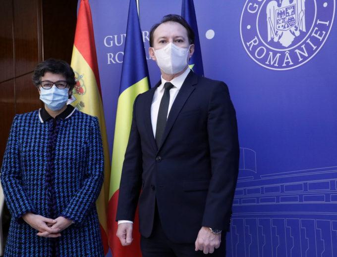 Premierul, întrevedere cu ministrul spaniol de externe; a fost evidenţiat caracterul substanţial al Parteneriatului Strategic